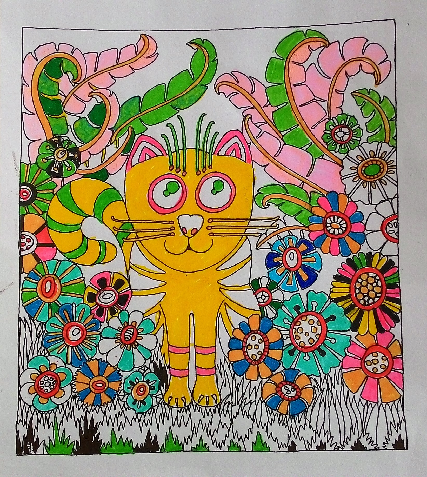 Colouring in for adults examples - Colouring Book For Adults Examples